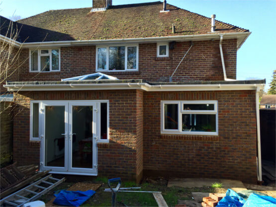 kitchen extension Romsey
