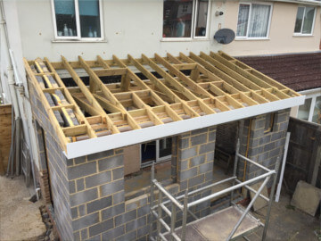kitchen extensions Romsey