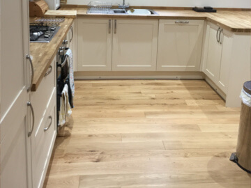 kitchen flooring Fareham